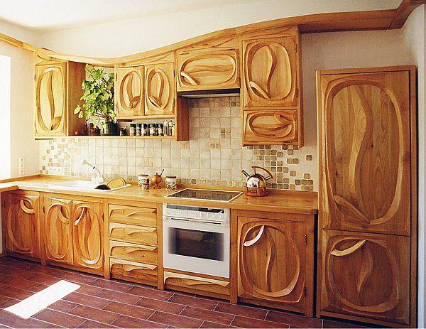 1051 Meble Drewniane Kuchnia Ideas For The House Wood