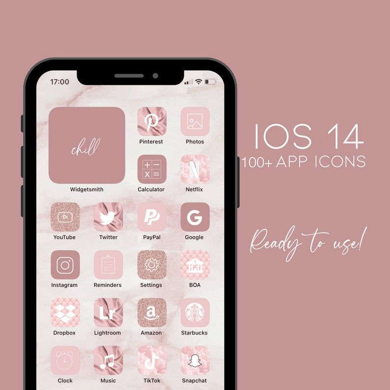 Ios 14 App Icons Pink Glitter Cute Aesthetic Pink Pastel Etsy In 2021 App Icon Homescreen Iphone Homescreen