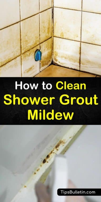 4 Brilliant Ways To Clean Shower Grout Mildew In 2020 With Images
