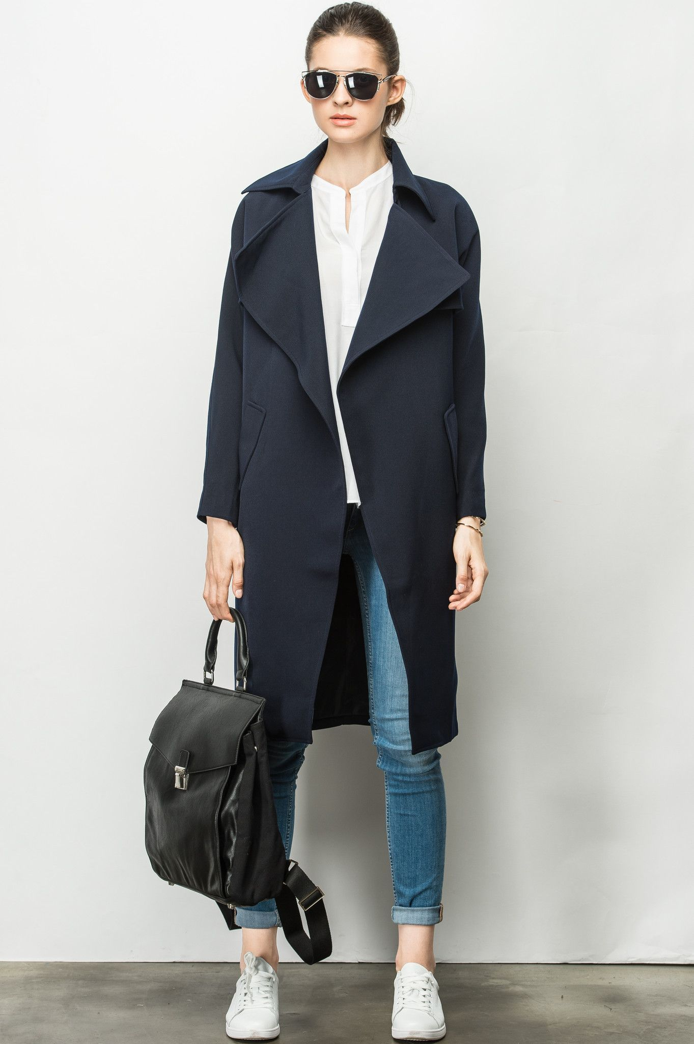 #AdoreWe Few Moda, Minimalistic Fashion Brands Online - Designer Few Moda Flapper Collar Jetsetter Jacket OU0067 - AdoreWe.com