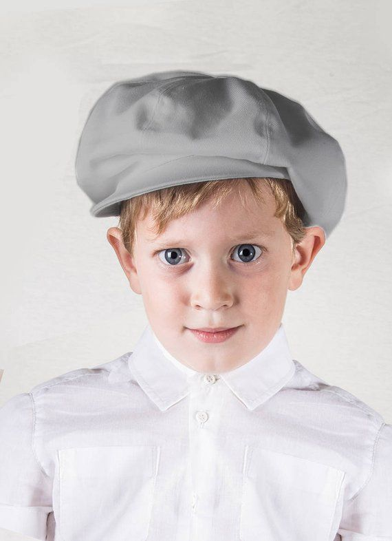 Grey newsboy hat Toddler boy hat Baby newsboy cap Infant hat Baker boy hat  Gatsby hat Ring bearer ha 2e6dc626ac9