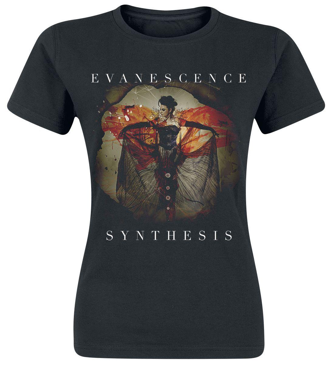 Evanescence Synthesis Girl Shirt schwarz #metal #shirts