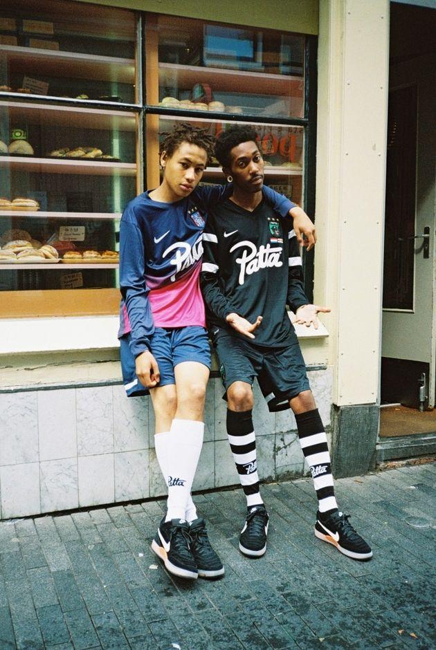 Lookbook Patta X Nike I Am Tiempo Lato 2014 Football Fashion Editorial Football Fashion Street Wear