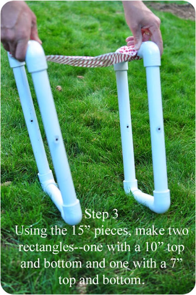 Diy kids chairs with pvc pipe pvc pipe pipes and pvc for Diy pvc projects