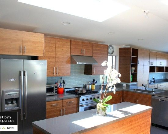 bamboo kitchen cabinets design pictures remodel decor and ideas - Bamboo Kitchen Decor