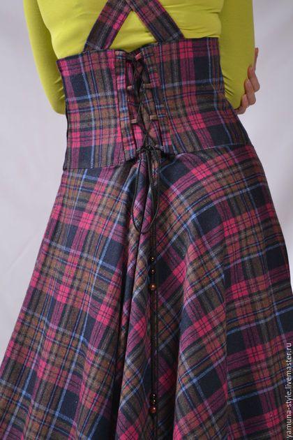 3318d440a9a Купить или заказать Сарафан шерстяной на бретелях. в интернет-магазине на Ярмарке  Мастеров.