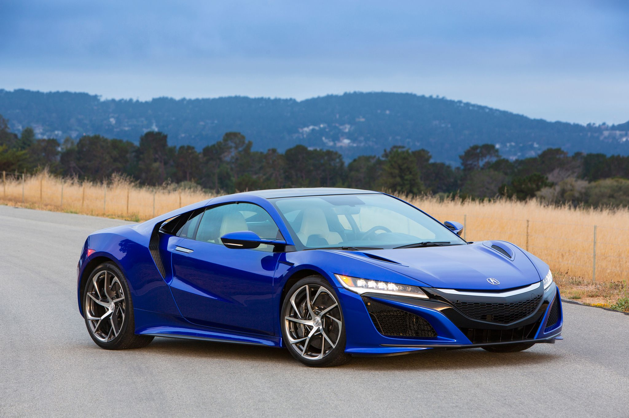 2017 acura nsx at the quail 2015 front