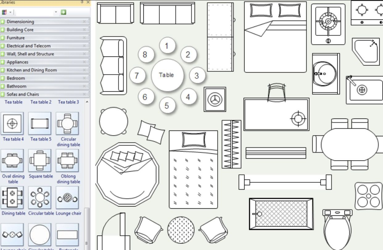 Pin by Pounehshahrestani on Top view objects  Floor plan design