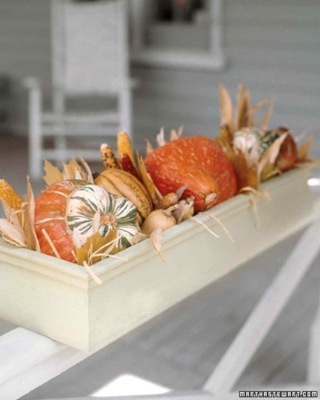 Autumn Planters Martha Stewart Living When Cold Weather - Delicate fall decor ideas for this autumn