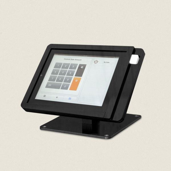 Tinkering monkeys square register glossy black or white acrylic square register an ingenius stand for small businesses using square credit card reader available in a variety of colours acrylic wood colourmoves Images
