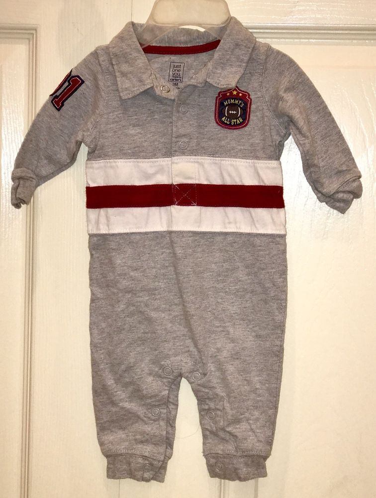 NWT Carters Baby Boy  2 Piece Short Sleeve Rompers Set All Stars Size 24M