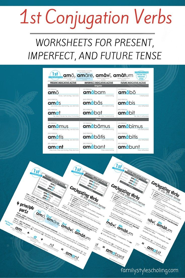 Latin Verb Conjugations Present Stem Worksheets Family Style Schooling Teaching Latin Classical Conversations Homeschool Verb Conjugations [ 1102 x 735 Pixel ]