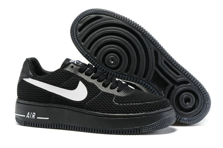 Nike Air Force 1 Low Upstep BR Herrenschuhe Weiß Weiß