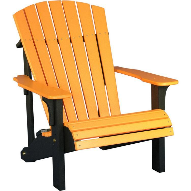 Luxcraft Recycled Plastic Deluxe Adirondack Chair With Images