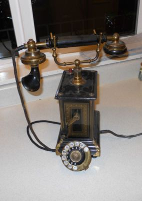 antique Copenhagen phone