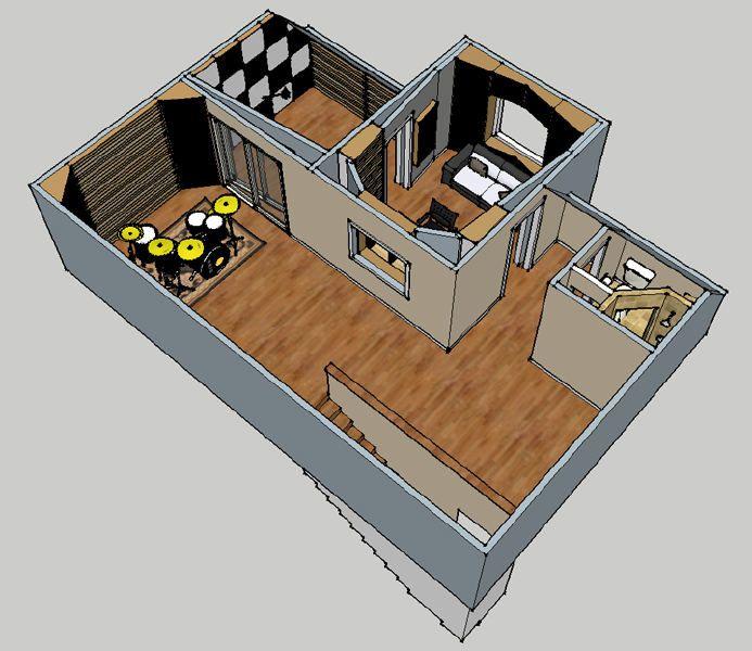 how to build a sound room