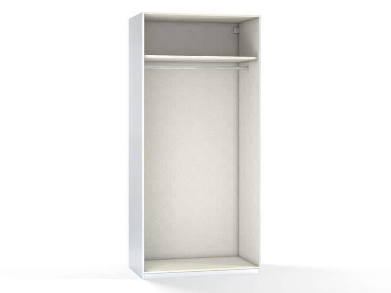 Caisse 2 Portes 100 Cm No Limit Coloris Blanc Vente De Armoire Conforama Conforama Armoire Conforama Caisse