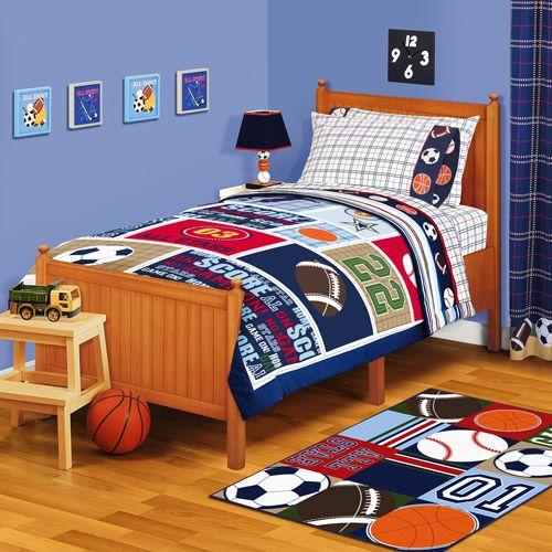 Boy S Bedroom Sports Theme Dream Home Pinterest Bedroom