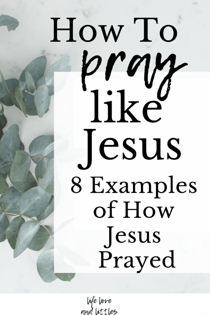 How To Pray: 8 Examples Of How Jesus Prayed - Joy In His Grace