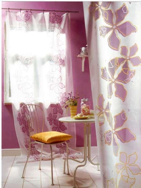 Tende moderne color glicine | Idee per decorare la casa ...
