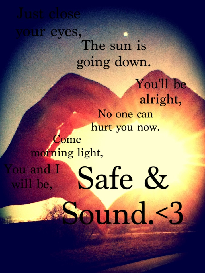 Safe and sound ~ Taylor swift | Music | Pinterest | Taylor swift ...