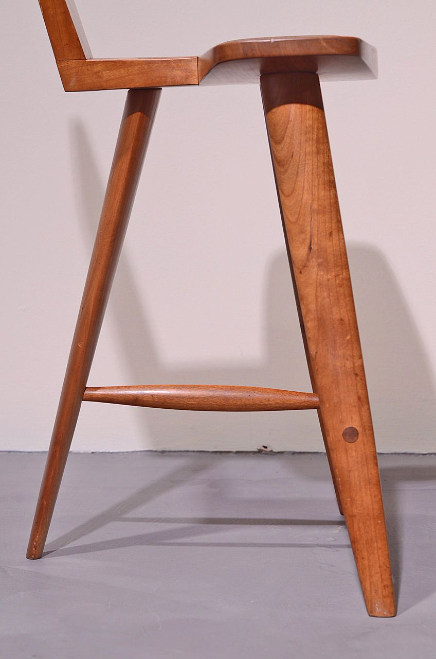 Extremely Rare Three Legged Stool By Tage Frid From A Unique Collection Of Antique And Modern Stools At Https Www 1stdibs Stool Vintage Stool Modern Stools