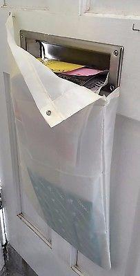 Lovely Garage Mail Slot Catcher