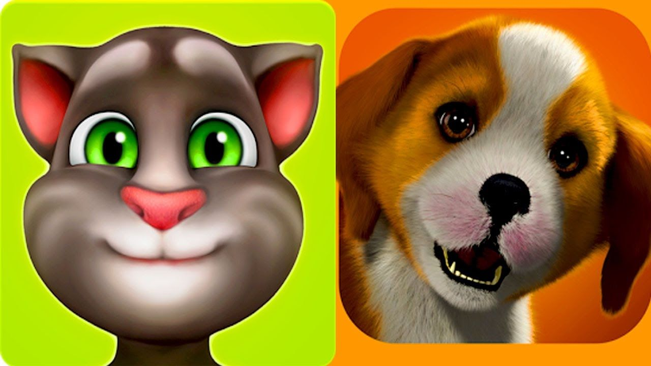 Cat and Dog My Talking TOM and PlayStation Vita Pets