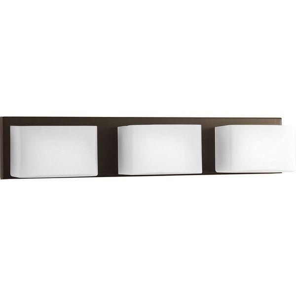 Progress Lighting Ace 3-light LED Bath Vanity Light | bathroom ...