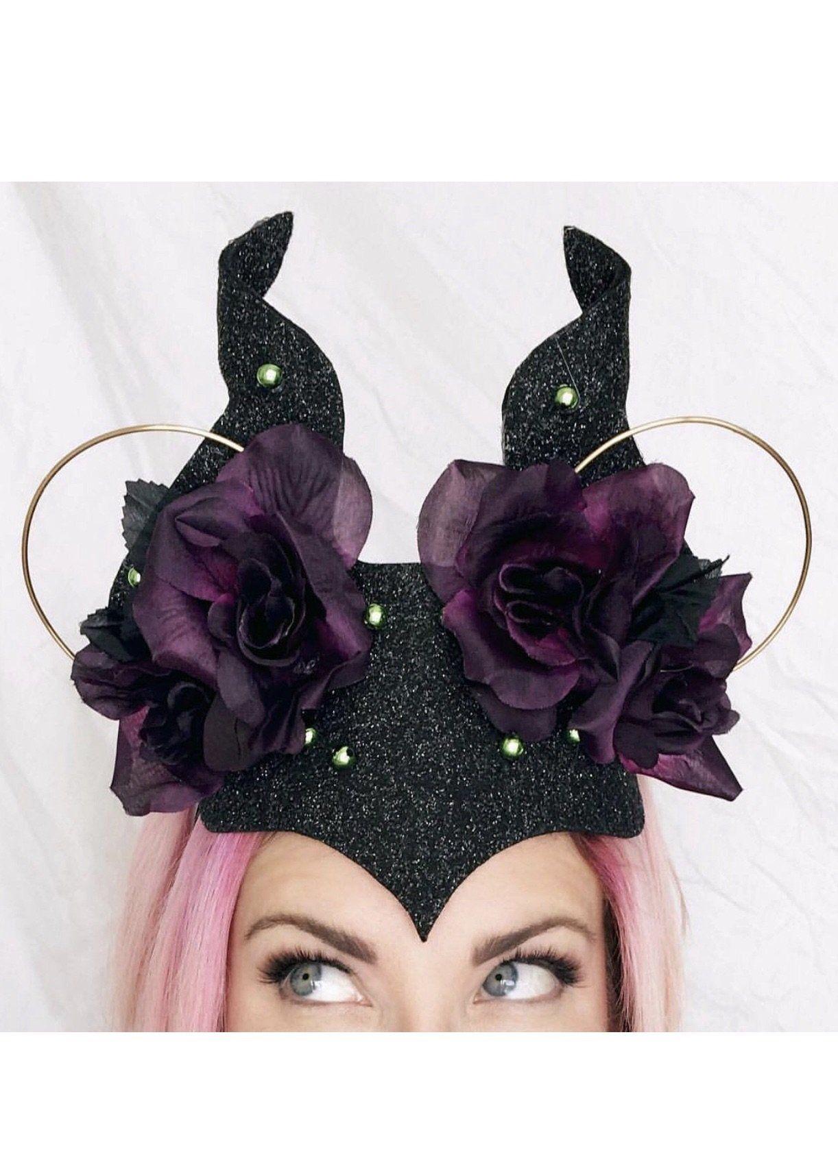Maleficent Headband Crafts Disney Mickey Ears Diy
