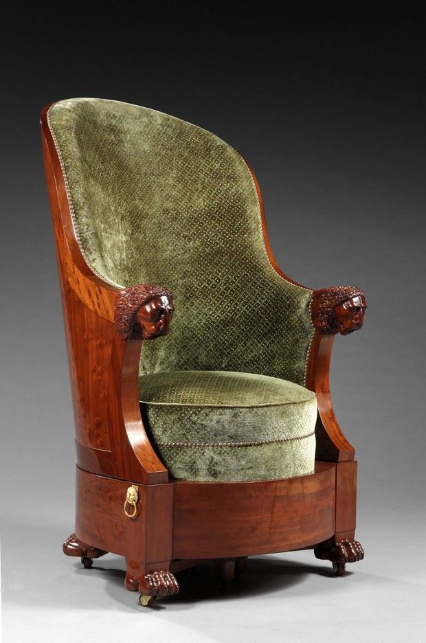 Lion Snouts Armchair Early 19th Century Furniture Armchair