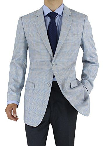 Marzzotti Rossi Modern Fit Men's Suit Jacket Two Button Sport ...