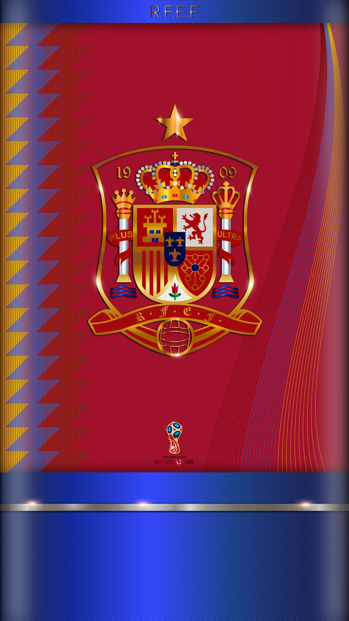 Fondo De Pantalla 5 5p Seleccion Espanola De Futbol Football Wallpaper Football Logo Real Madrid Team
