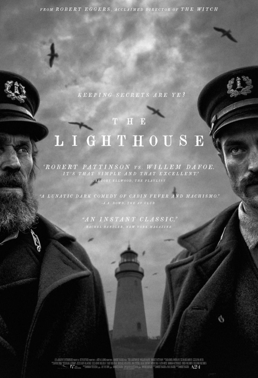 The Lighthouse Movie Poster Lighthouse Movie Lighthouse Full