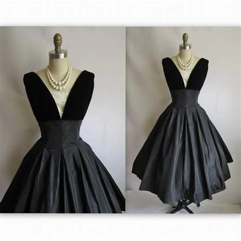 Evening Dresses Full Figure Dresses For Women Cocktail Dress Vintage Vintage Black Cocktail Dress Retro Cocktail Dress [ 1000 x 1000 Pixel ]