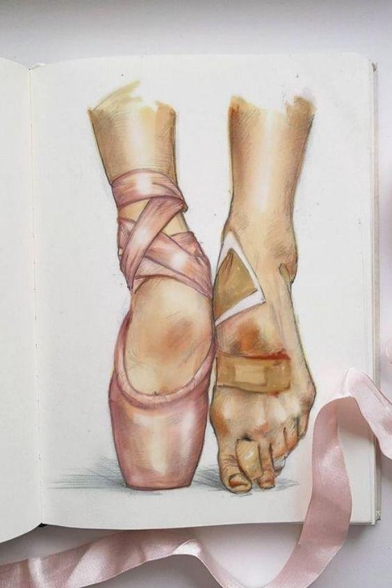 Watercolor Drawing Do It Yourself Easy Art Sketchbook Ballet Drawings Pencil Art Drawings