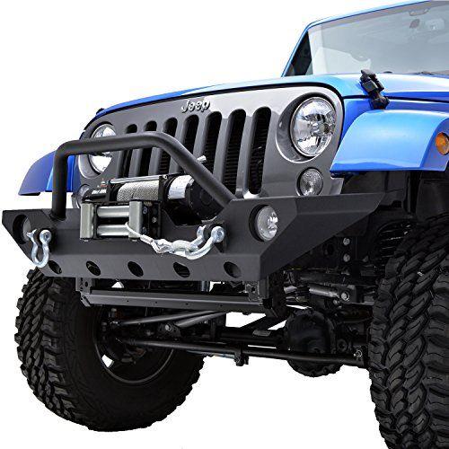 Eautogrilles 0717 Jeep Wrangler Jk Rock Crawler Offroad Front