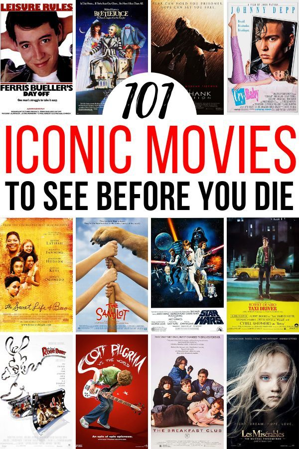 Every movie lover has a personal list of movies to watch before you die. There's classics, indies, and legendary films. Basically, you should add these 101 films to your list! #moviestowatch