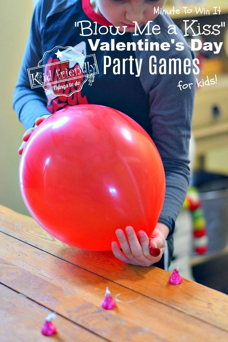 9 Hilarious Valentine's Day Games for Kids - Minute to Win It Style   Kid Friendly Things To Do