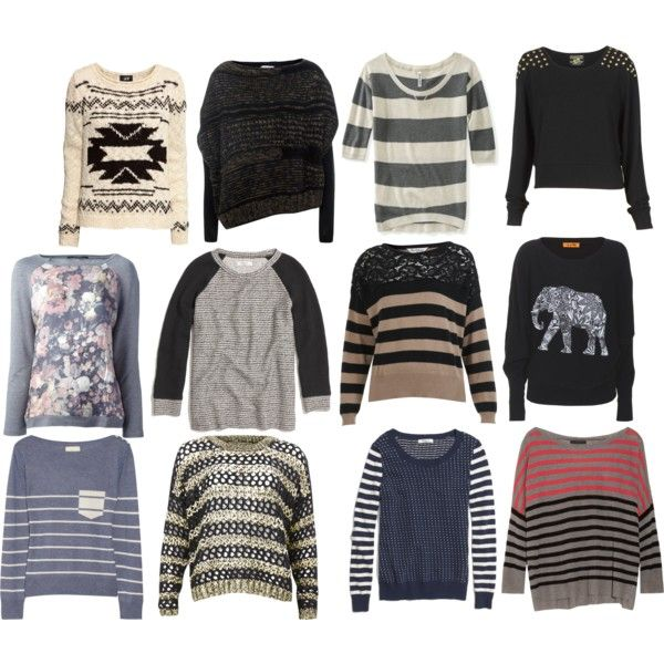 """""""sweaters"""" by emma-fulop on Polyvore"""