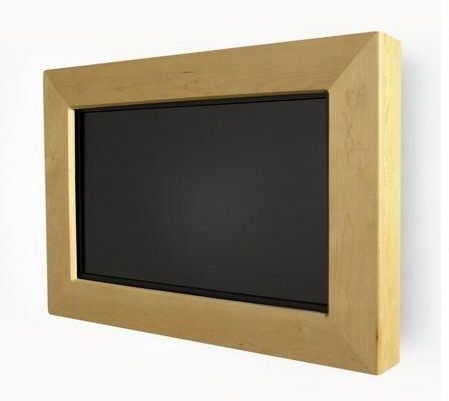 wall mounted tv frame wall mounted hdtvs pinterest tv frames mounted tv and wall mount. Black Bedroom Furniture Sets. Home Design Ideas