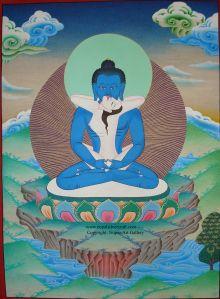 Samantabhadra and Samantabhadri - taking the prude out of Buddhism since 760.  (Props to Padmasambhava)