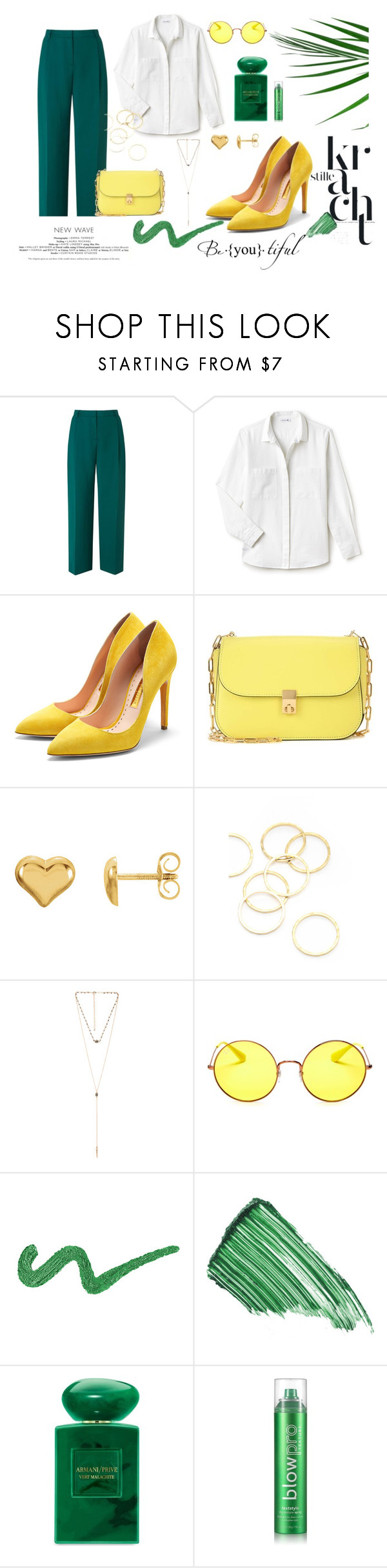 """""""Spring"""" by jeca09 ❤ liked on Polyvore featuring L.K.Bennett, Lacoste, Rupert Sanderson, Valentino, A.V. Max, 8 Other Reasons, Ray-Ban, By Terry, Giorgio Armani and blow"""