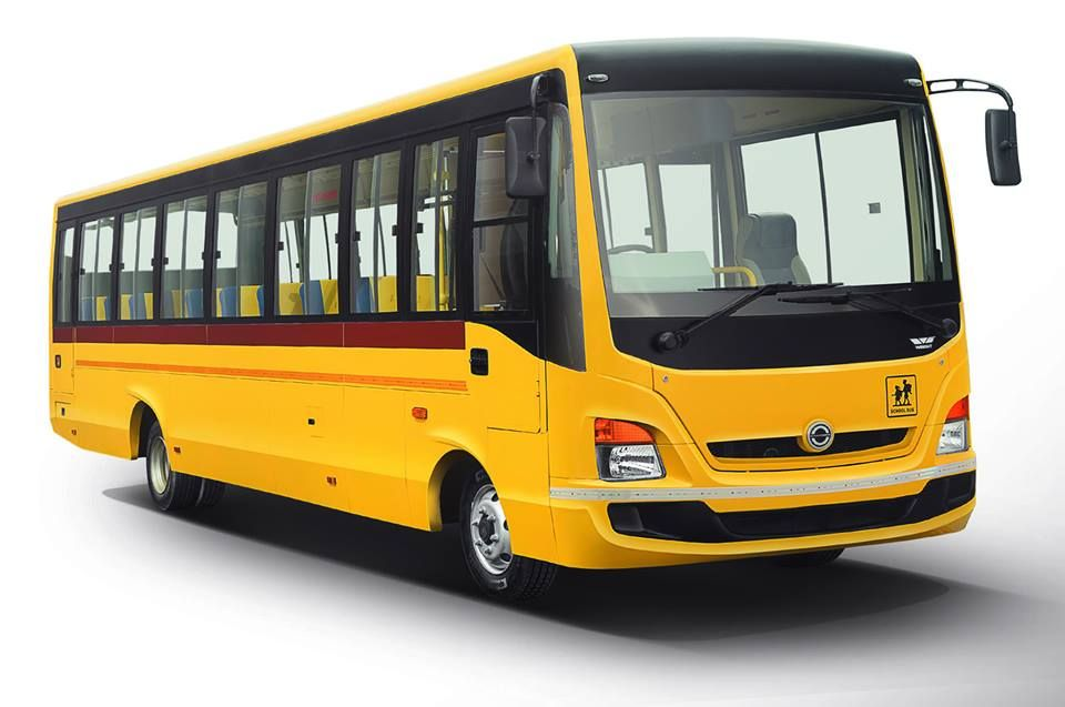 Bus Battery Daimler Bharatbenz School Buses Vehicles Benz