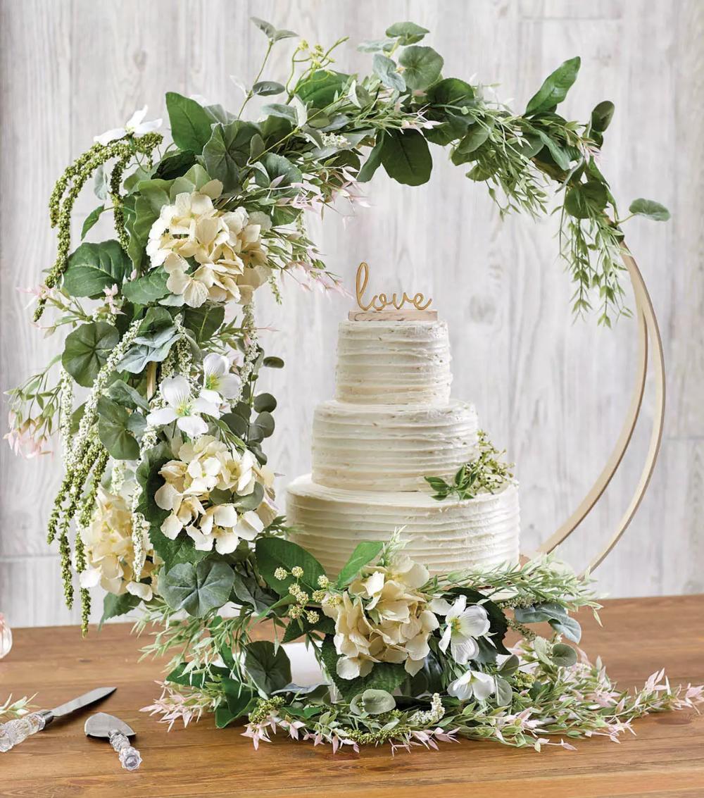 27+ Diy wedding cake hoop stand inspirations