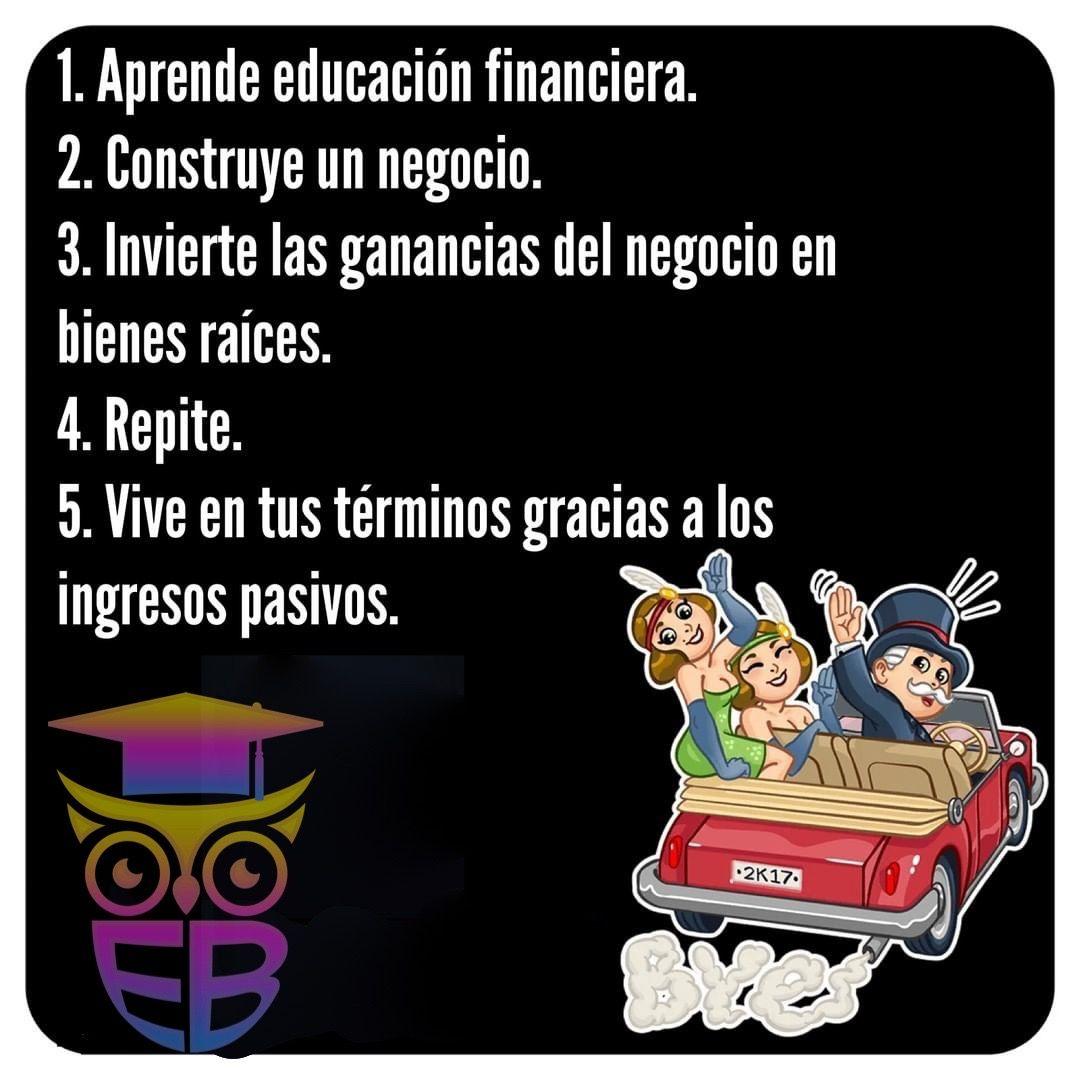 Mejora tu vida aprende sobre educación financiera