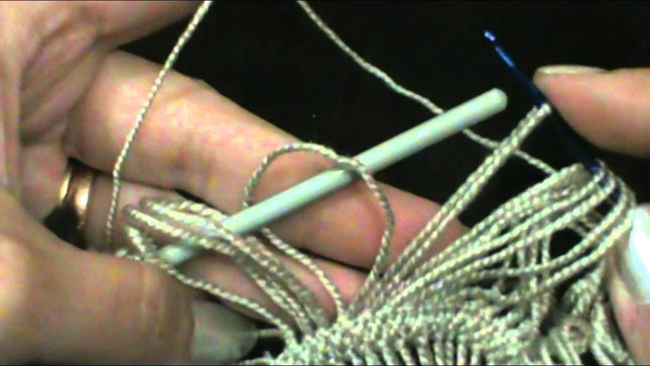 TECNICA DE HORQUILLA | crochet horquilla | Pinterest | Horca, Tejido ...