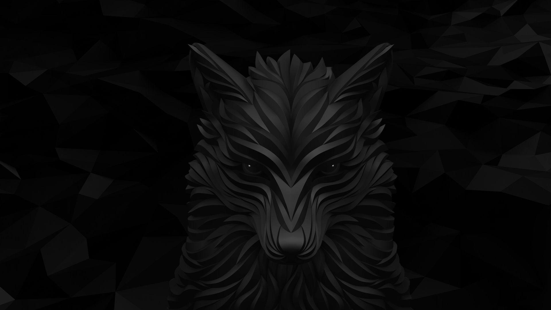 Black Wolf White Wolf 1920x1080 Iphone Black Black Wolf Wallpaper