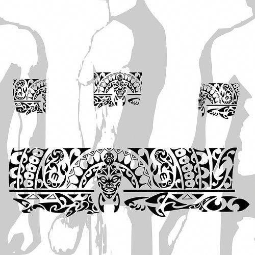 Why Do Maori People Tattoo Their Faces: Tattoo Maori Bracelete Polinésia Kirituhi