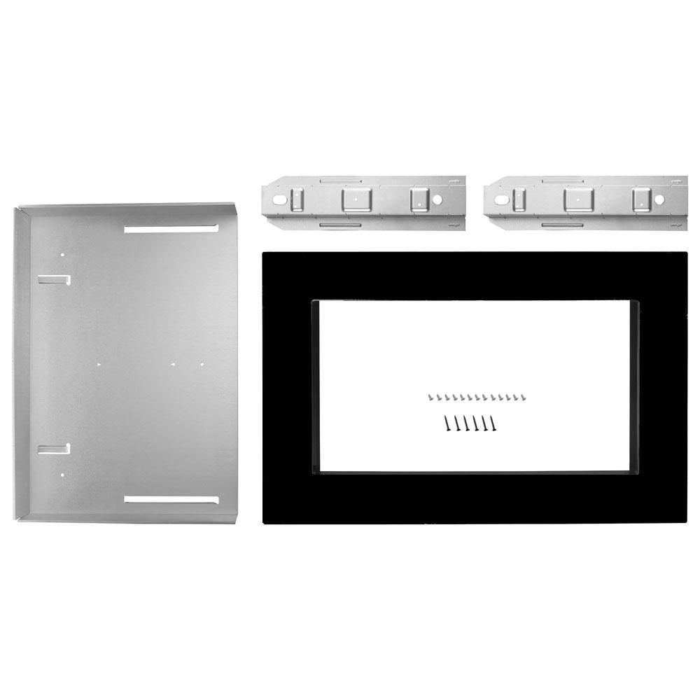 Whirlpool 30 In Microwave Trim Kit In Black Countertop